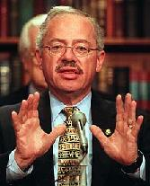 Bob Barr holds his hands out, as if to say...