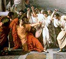 the description of the assassination of julius caesar in william shakespeares julius caesar Shakespeare may have written julius caesar as the first of his plays to be performed at the globe, in 1599 for it, he turned to a key event in roman history: caesar's death at the hands of.