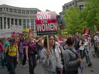 [photo: Stop the War on Women]