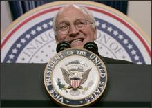 photo: Dick Cheney smiles