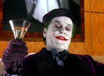 photo: Jack Nicholson as The Joker in Warner Brothers' Batman (1989)