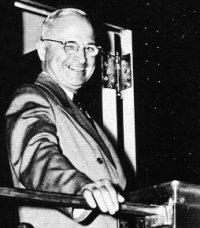 press photo: Truman