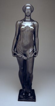 """A nude sculpture entitled """"Flora"""", by Aristide Maillol (1911)"""
