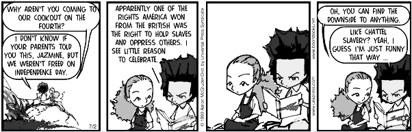 The Boondocks for 2007-02-02