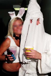 photo: from an Auburn fraternity Halloween Party