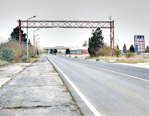 Nickelsdorf-Hegyeshalom border, Austria/Hungary