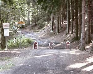 Czech/ Austrian border